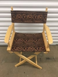 Pier 1 Director's Chair - new back/seat (6/25 pickup only) Glen Burnie