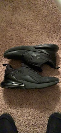 All black Nike Airmax 270s size 10! 8/10 condition! Centreville, 20120