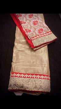 Golden and red Saree Arlington, 22206