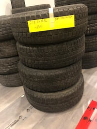 USED WINTER TIRES, AS LOW AS $120 Toronto, M1V 5G4