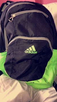 Black and green adidas backpack or buy both for 20 1303 km