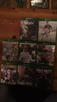Xbox One game case lot Vancouver, V5N 2C9