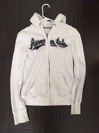 Abercrombie and fitch white jacket size small.