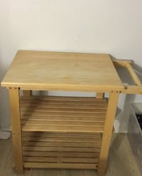 Wooden kitchen cart  Toronto, M5V 3Z1
