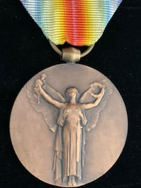 French Inter-Allied Victory Medal (Shipping Available) Toronto, M4V 2C1