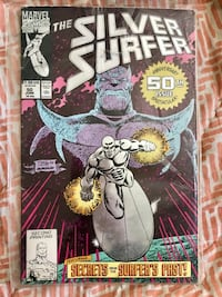 the Silver Surfer anniversary spectacular 50th issue St Thomas, N5R 2K9
