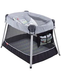 baby's black and gray bassinet Watsonville, 95076