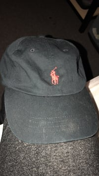 Black/Red Polo Hat Greenville, 27858