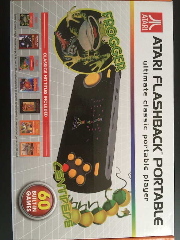 Atari flashback handheld console with games 83af7073-76ad-4451-8411-369a8122732b