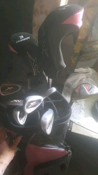 Woman golf clubs (pink) never used 570 km