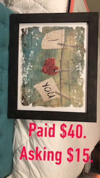 white and red floral painting Prescott Valley, 86314