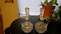 Crystal oil or dressing containers  Albuquerque, 87109