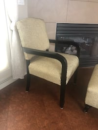 Chair with stool  Calgary, T3H 2P3