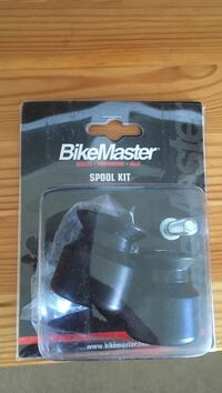 Black 8mm Bike Master spool kit with box North Vancouver, V7H