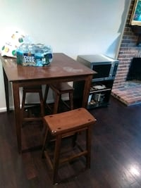 brown wooden table with two chairs Woodbridge, 22193