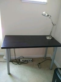 Ikea full size table and light