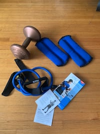 Exercise weights combo