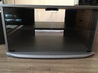 Black and gray tv stand , T0A