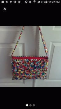 red, yellow, and blue floral crossbody bag 2062 mi
