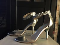 Silver Metallic High Heels  Kitchener, N2H 5L5