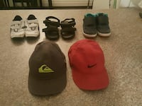 Shoes and hats toddler