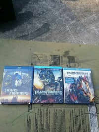 Transformers blu-ray movies 1-3 Knoxville