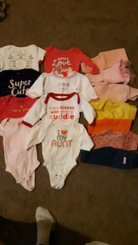 Baby girl lot 15 pieces size 0-3 months euc smoke  Whitby, L1N 3C7