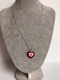 Heart shape glass pendant necklace  San Jose, 95131