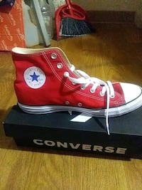 pair of red Converse All Star high-top sneakers Birmingham, 35244