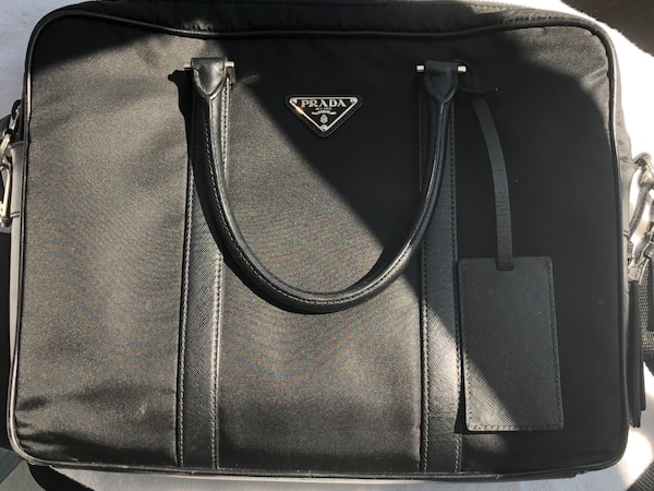 114bbb811c57dc Used Prada Nylon Briefcase for sale in Vaughan - letgo