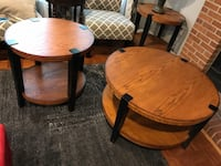 Coffee table AND side tables Columbia, 21045