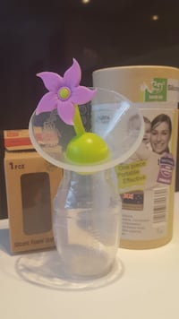Haakaa Breast Pump Silicone with Flower Stopper Toronto