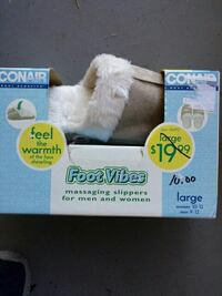Conair foot vibes messaging slippers