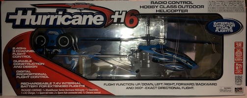 Fly into Christmas!  New Remote control helicopter