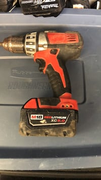 red and black Black & Decker cordless hand drill Port Moody, V3H 4W7