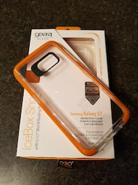 Samsung S7 case&glass screen protector