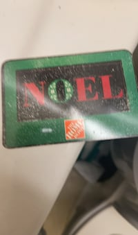 150 $ Home Depot gift card