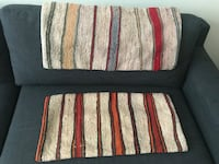 Turkish Kilim Pillow Covers 12x24 Durham