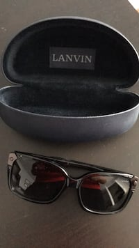 black framed sunglasses with case Vaughan, L4H 3E6