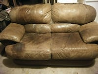 Brown leather lovesest Lubbock