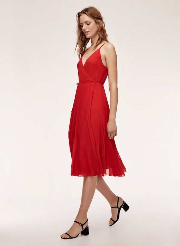 a09311ca2a2 Used NEVER WORN W  TAGS Small Aritzia Wilfred Beaune Dress in Red ...