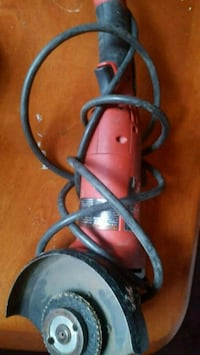 red and black corded power tool Gatineau, J8X 3J9