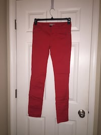 Red Skinny Jeans (Love Culture, Size: 7) Chantilly, 20152