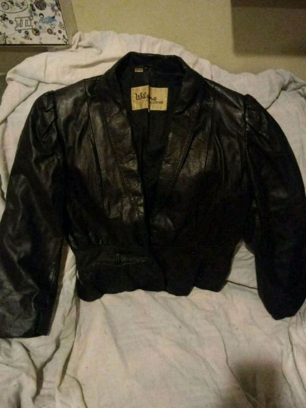 75bd870b1 Vintage Wilsons Suede & Leather Jacket Size 12