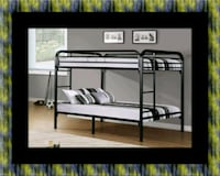 Twin bunkbed frame with 2 mattress Upper Marlboro, 20772