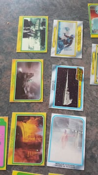 1980 star wars cards empire strikes back Surrey, V3S 4H2