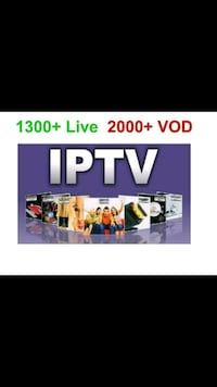 Iptv subscription and Iptv Boxes  Brampton, L6S 5M2