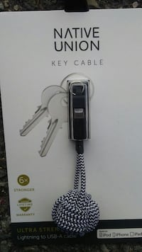 Native Union Key Cable for iPhones