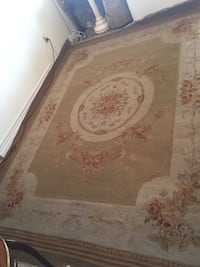 Handmade Aubusson style reversible rug size 8x10ft Toronto, M2R 3N1