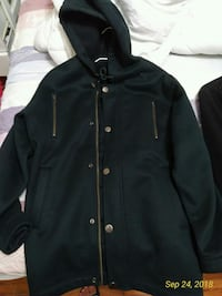 black zip-up jacket Toronto, M4R 1G5